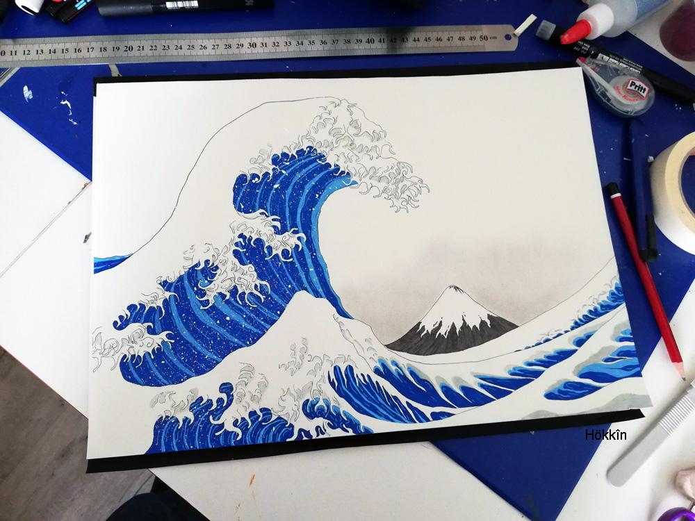 hokusai-dessin